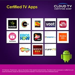 Certified Tv apps