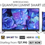 4K UHD Quantum Luminit Smart LED Tv